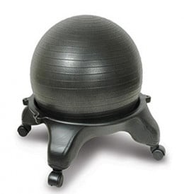 Example of a ball chair