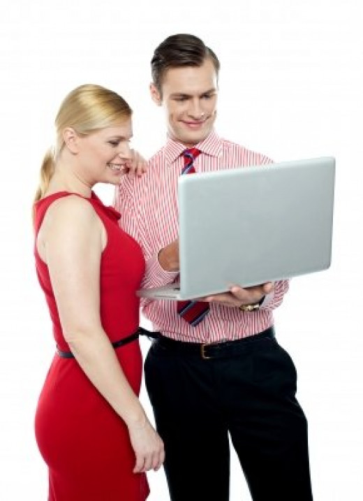 A professional working relationship can turn into a romantic relationship.