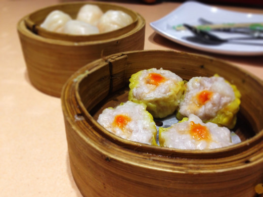 Shrimp Siomai of Golden Fortune in Binondo, Manila