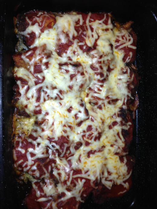 Lasagna Rollup with out meat