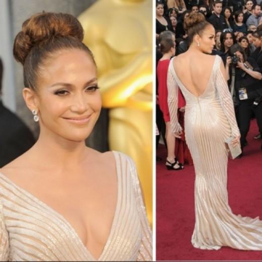 Jennifer Lopez Backless