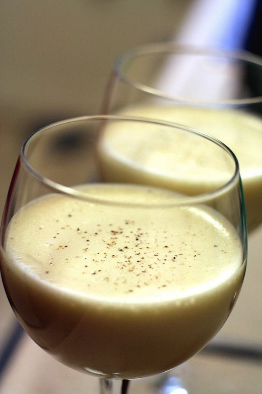 enjoy delicious eggnog anytime of the year