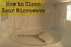 How to Clean Your Microwave With Steam