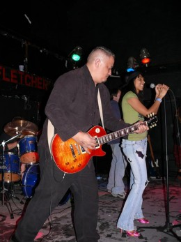 Scotty and his Les Paul.