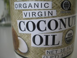 The purest form of coconut oil you can find will be the healthiest for your skin.