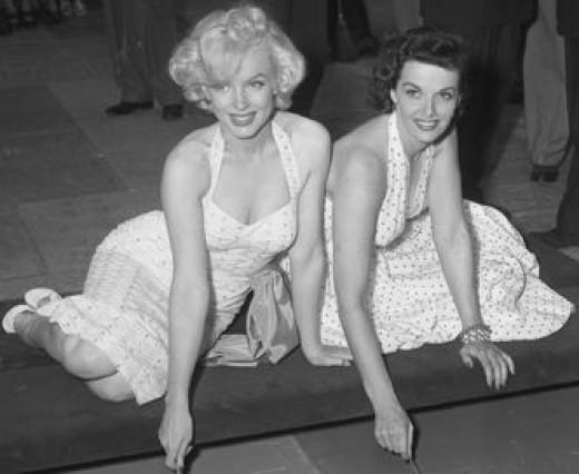 Marilyn Monroe had ties to Palm Springs.