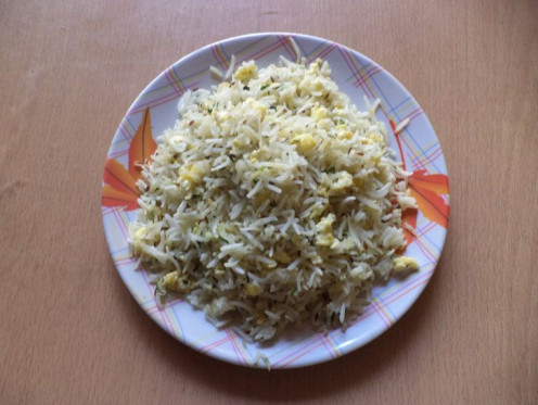Egg Fried Rice Recipe - Ingredients and Method of Preparation