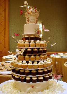 An Irish wedding cake
