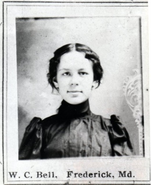 One of my ancestors, my great great grandmother as a young woman in the late 1800s
