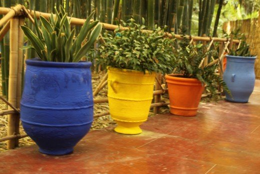 Henri Matisse was a great inspiration for the colours of the Jardin Majorelle, Marrakesh