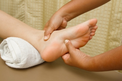 Look after your feet -- the hardest working part of your body!
