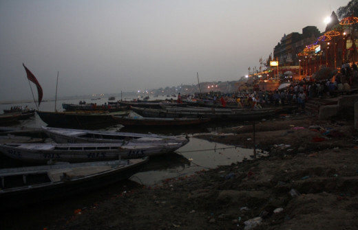 The Ghats in the Ganges