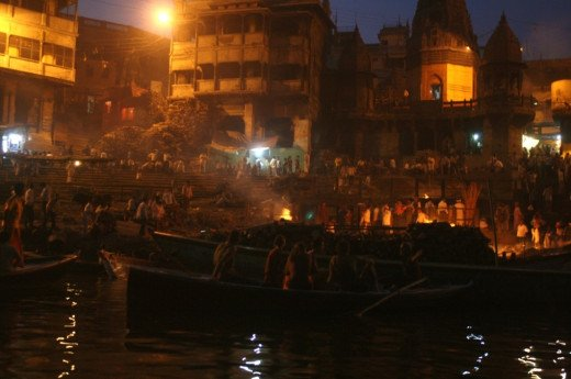 Worshiping the Ganges