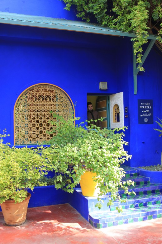 The Berber Museum within the Majorelle Gardens, Marrakech