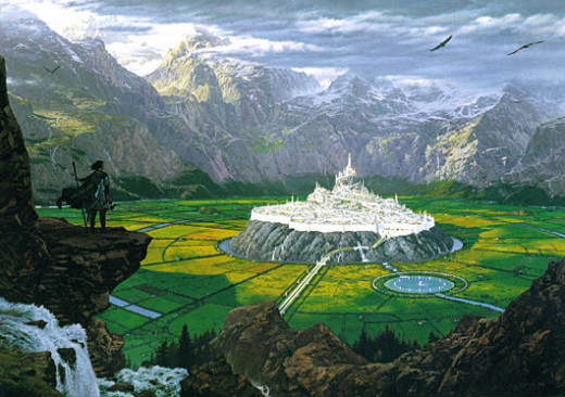 the Elven city of Gondolin.