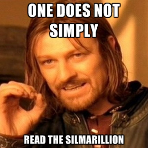 You have a point, Boromir. lol.