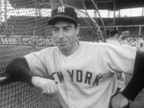Joe DiMaggio -- the greatest D player