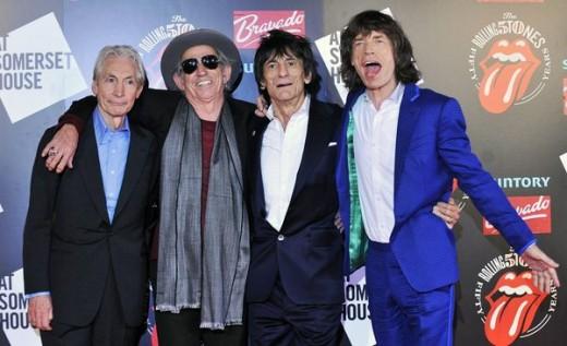 The Stones in 2012