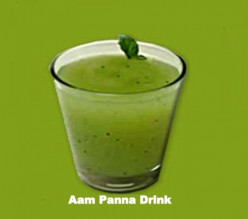 How to make Aam Panna Juice - Recipe using Green Mango