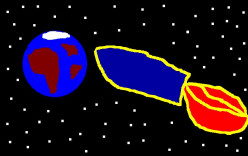 The possibility of space travel.