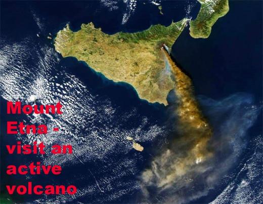 Mount Etna - visit an active volcano