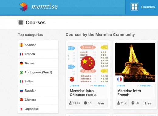 Memrise Courses