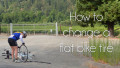 Beginner Triathlon 101 - How To Change A Flat Bike Tire