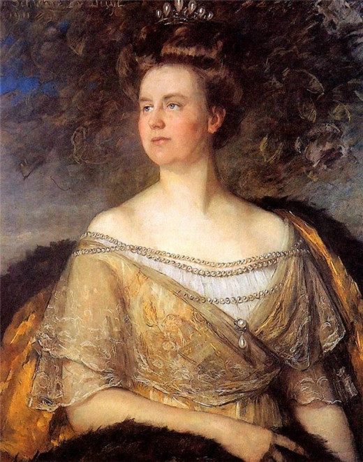 Queen Wilhemina by Thérèse Schwartze