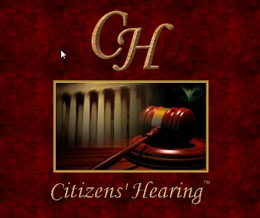 Citizens Hearing on Disclosure of an extraterrestrial presence engaging the human race.