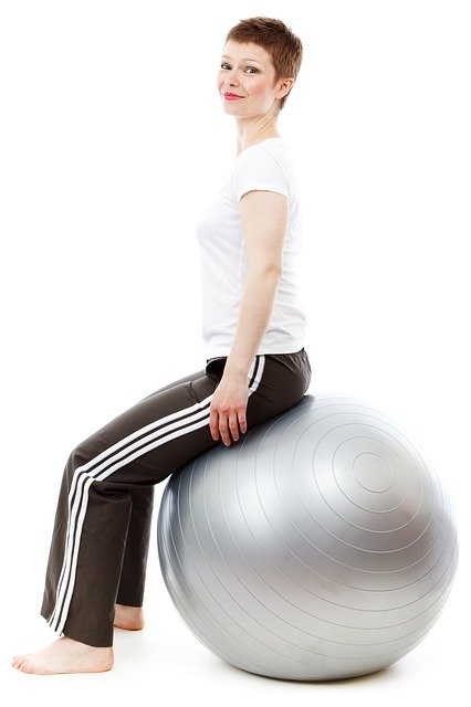 Stability ball exercises are great for premenstrual symptoms.