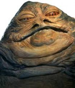 Will the real Jabba the Hutt please stand up?
