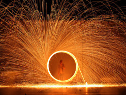 How to Photograph Using Steel Wool