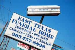A sign of the times...funeral home business is like so many other business -- the owners are out to make a profit from your loss.