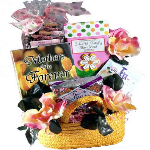 There are many gift baskets that you can find on Amazon.com and each of these are filled with a lot of different items.