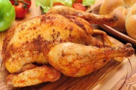 Roast Madras Chicken