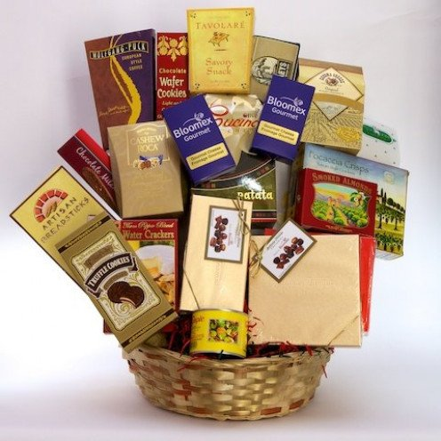 Get a lot of products with just one gift basket. Isn't that a bargain?
