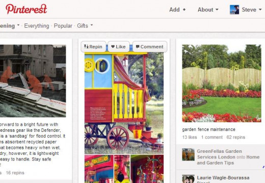 Pinterest - a great general interest based social network