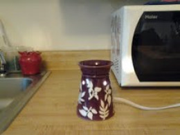 This is my scented wax warmer.