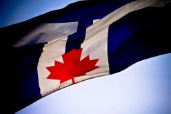 Toronto flag at CNE