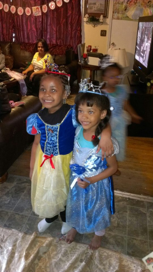 Maria and Jordyn at Party