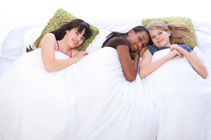 Sleepovers! Tweens & Teens definitely need decent mattresses for those! Photo Credit: Darrin Henry - Fotolia.com