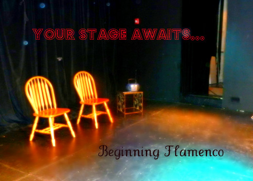 Get ready for your flamenco debut performance.