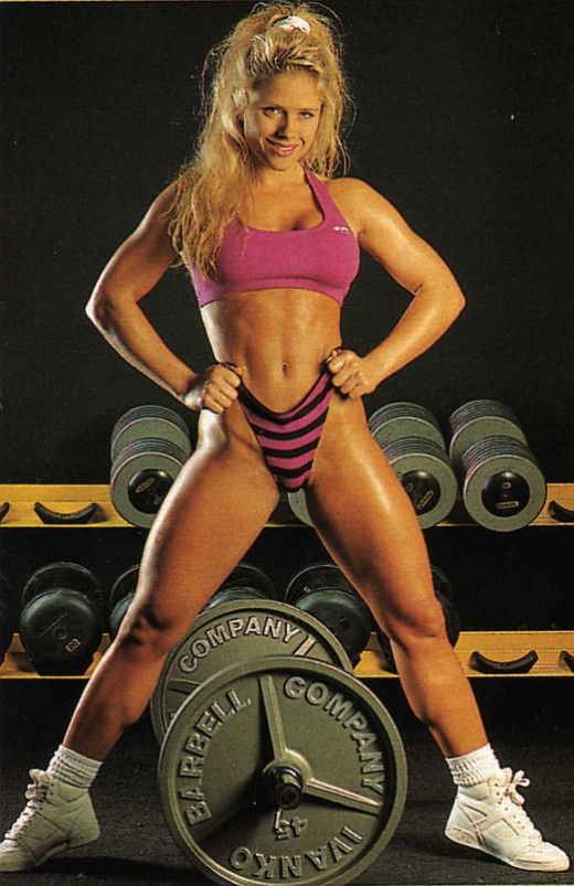 """Old School"" pic of Monica Brant"