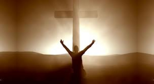 In the Cross, we find strength to face our fears.