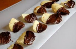 Chocolate Dipped Ruffle Potato Chips