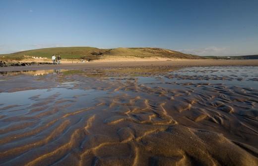 Woolacombe beach, North Devon