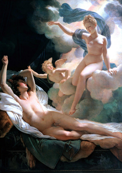 Morpheus and Iris : Pierre-Narcisse Guerin