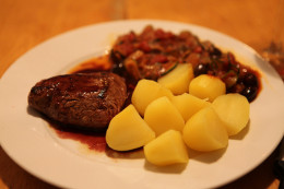 Some older adults and elderly people prefer their meals simple -- meat and potatoes are a staple for some.