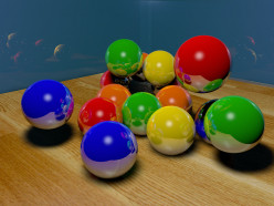 Photographing Bouncing Balls