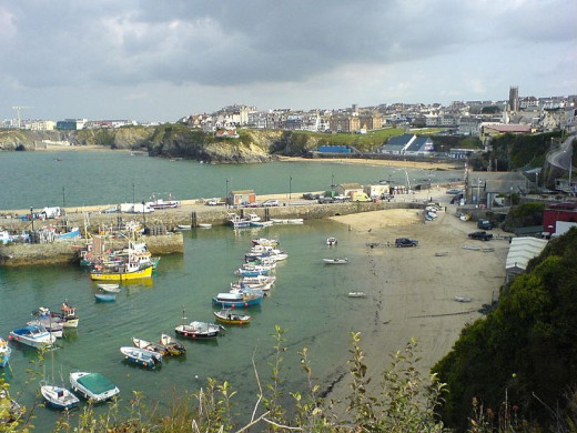 Things to Do in Newquay Cornwall - Visit Newquay Harbour. Source: PD